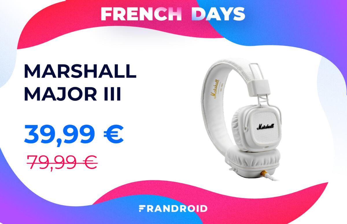 marshall major iii french days 1200x777 - les meilleures offres pour se faire plaisir à moins de 100 €