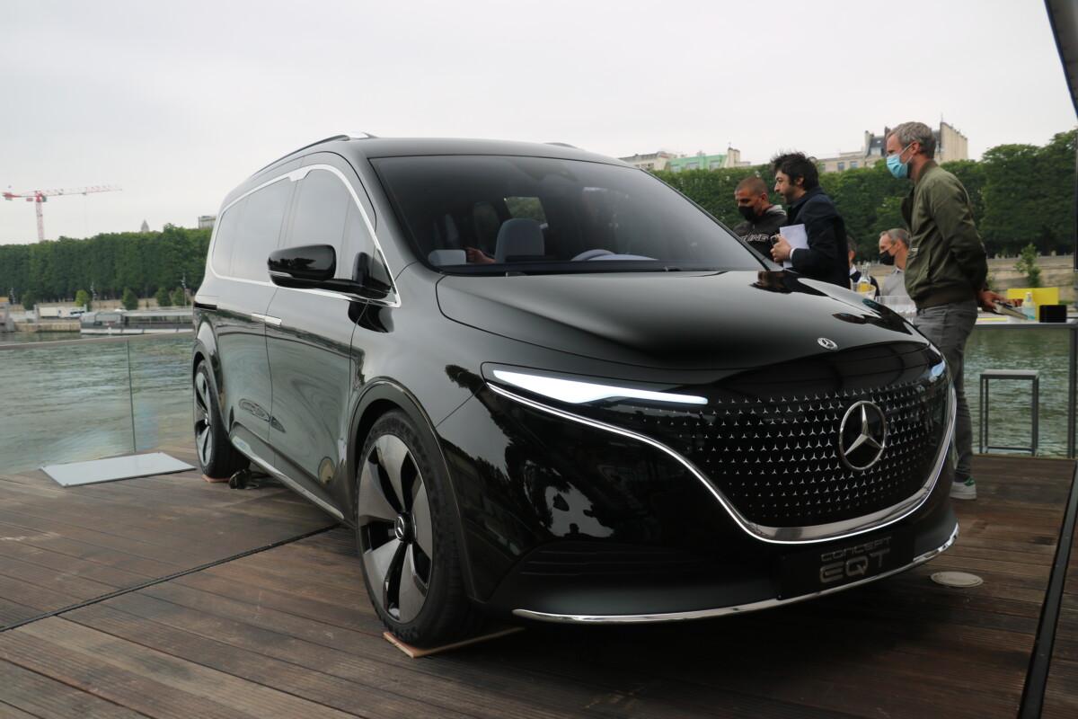 Mercedes EQT Concept de face