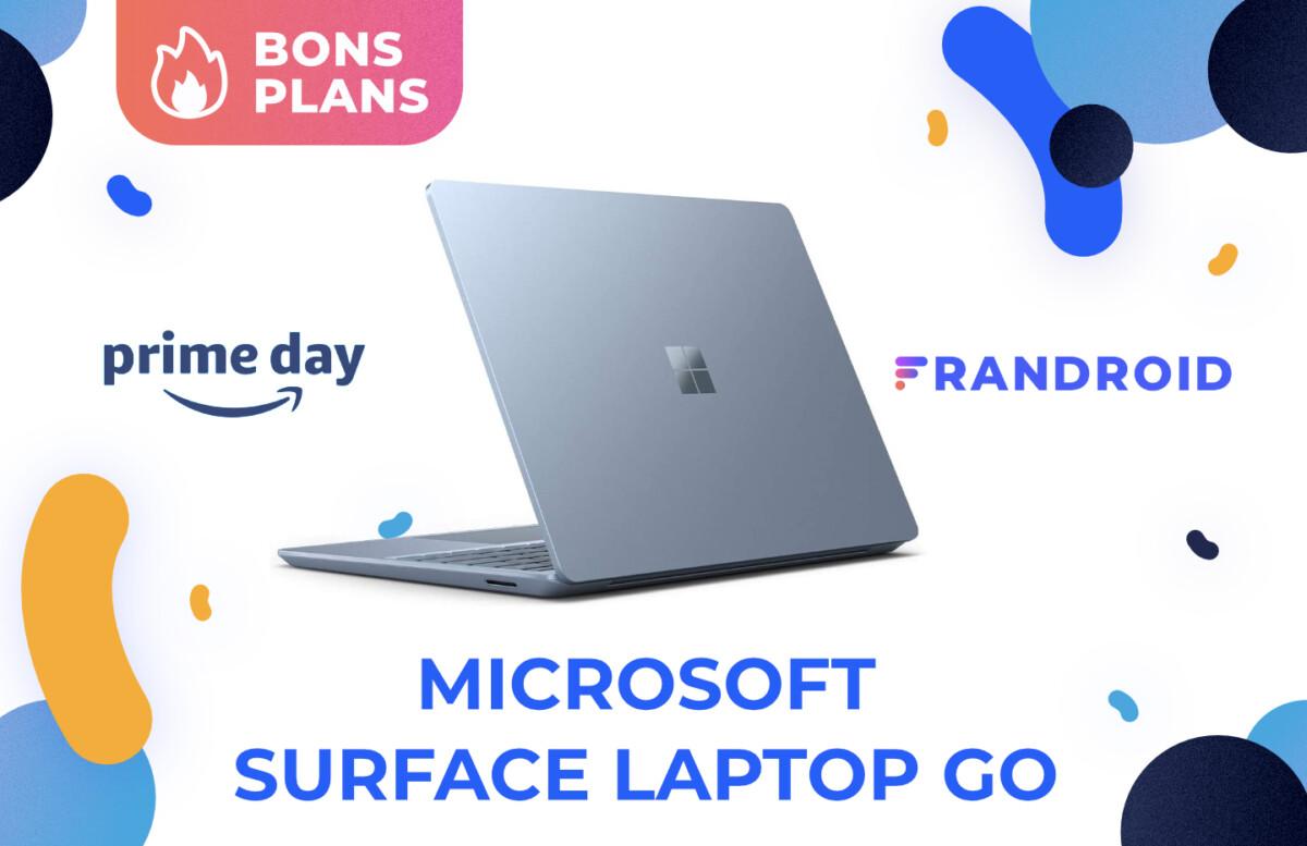 Grosse promotion pour le Microsoft Surface Laptop Go pendant le Prime Day d'Amazon