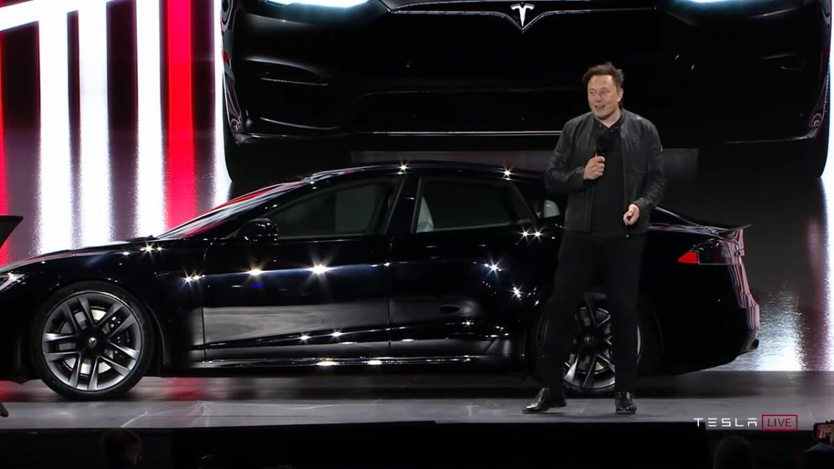 La Tesla Model S Plaid en juin 2021