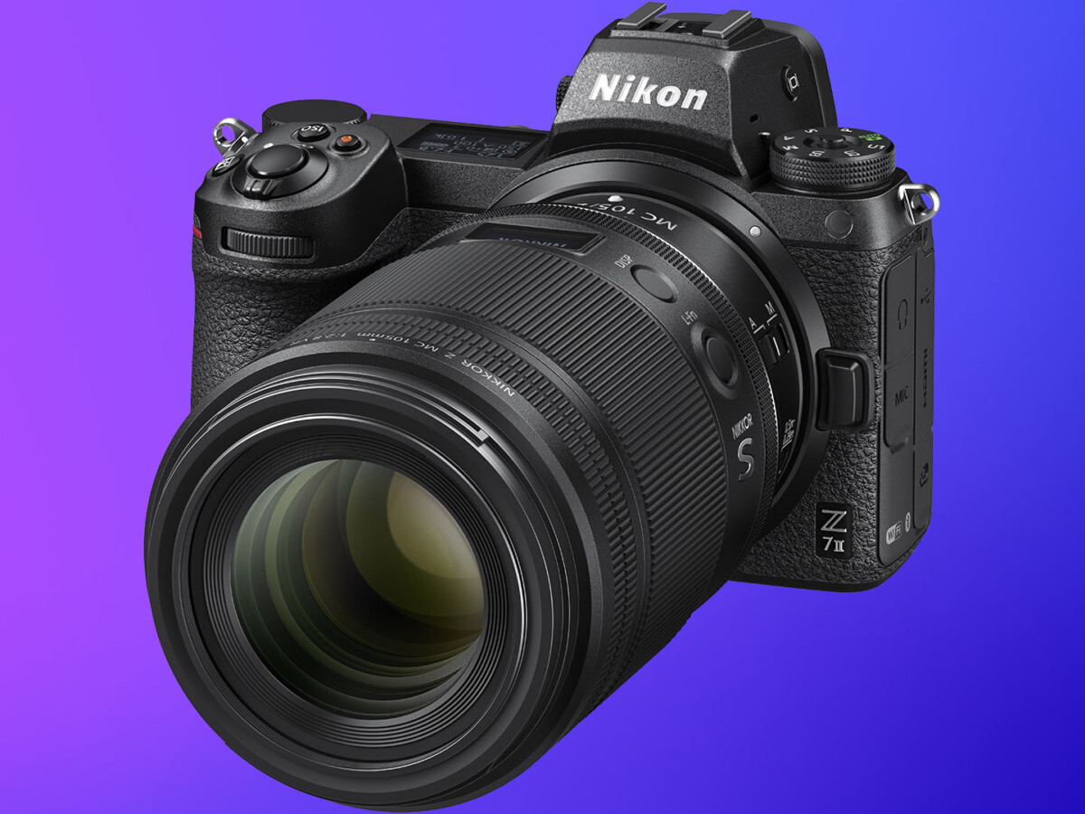 L'objectif Nikkor Z MC 105 mm f/2,8 VR S sur un Nikon Z7 II