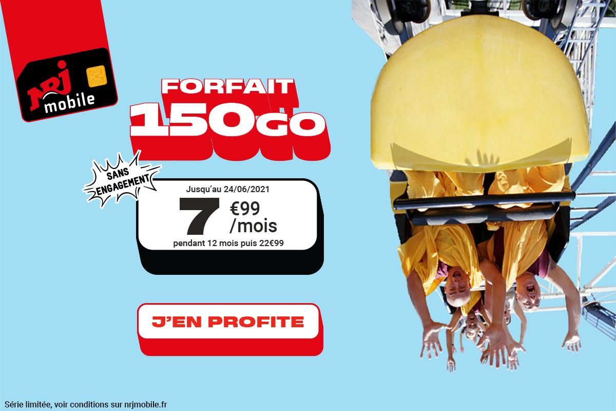 Forfait mobile : c'est le dernier jour pour profiter de 150 Go à 7,99 euros seulement