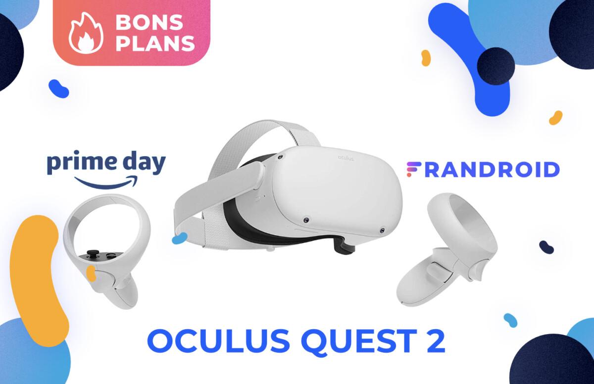 Promotion sur l'Oculus Quest 2 pendant le Prime Day 2021 d'Amazon.