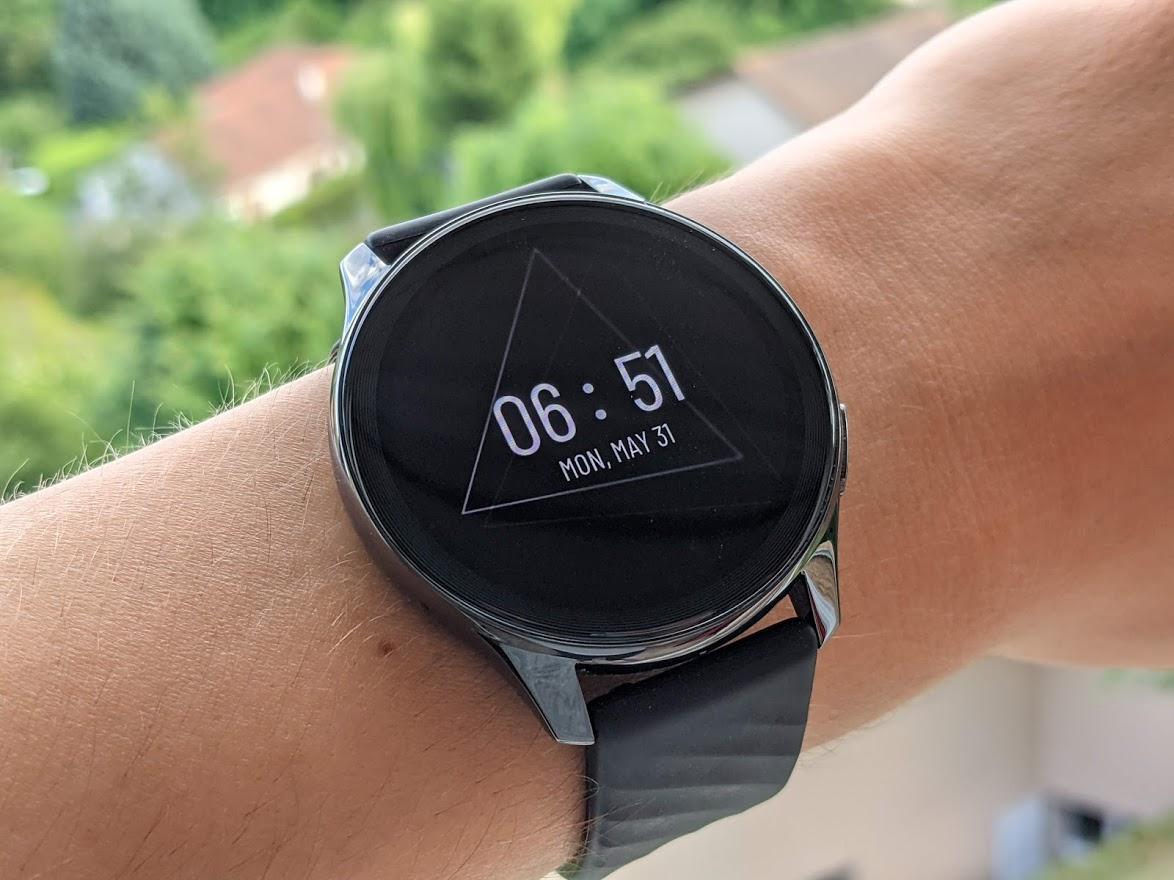 Un des cadrans Always-On de la OnePlus Watch