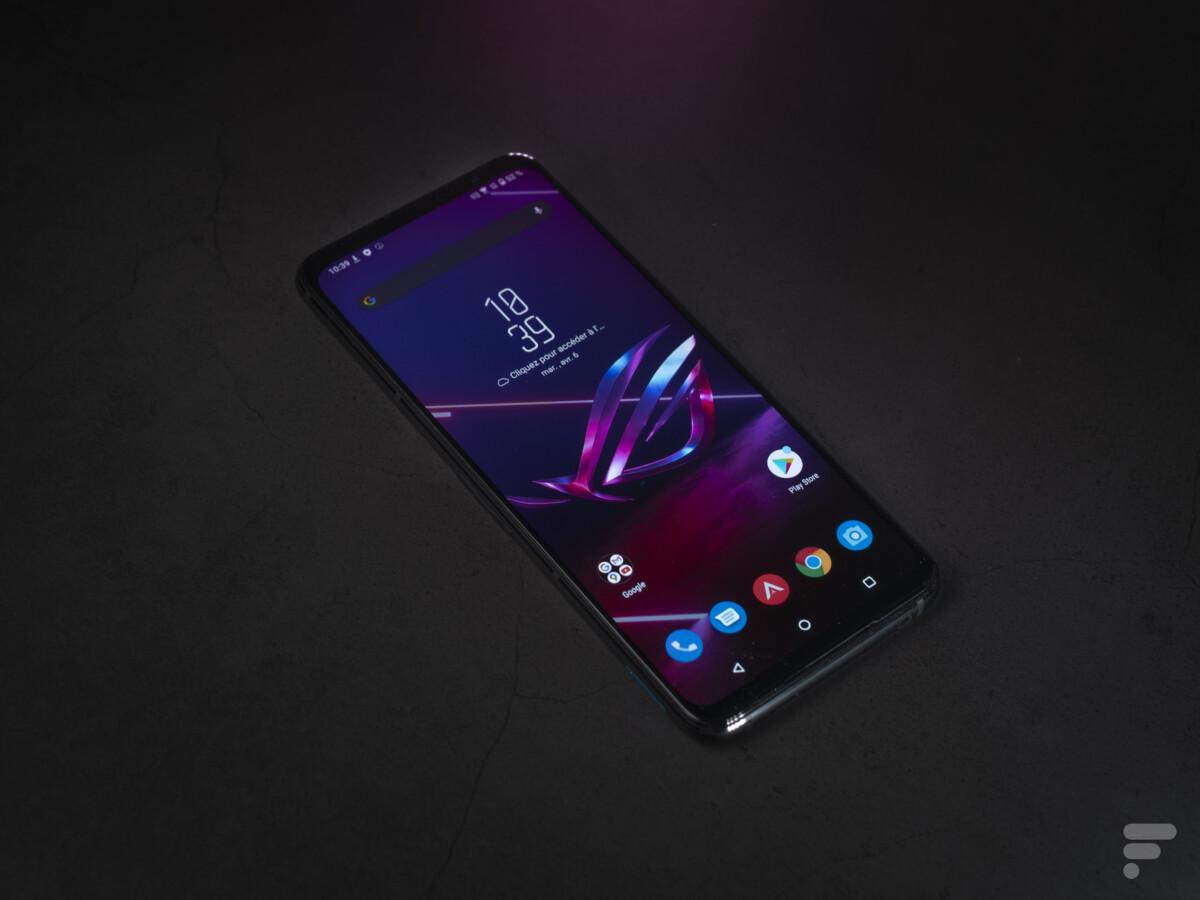 Le très grand écran du ROG Phone 5 Ultimate