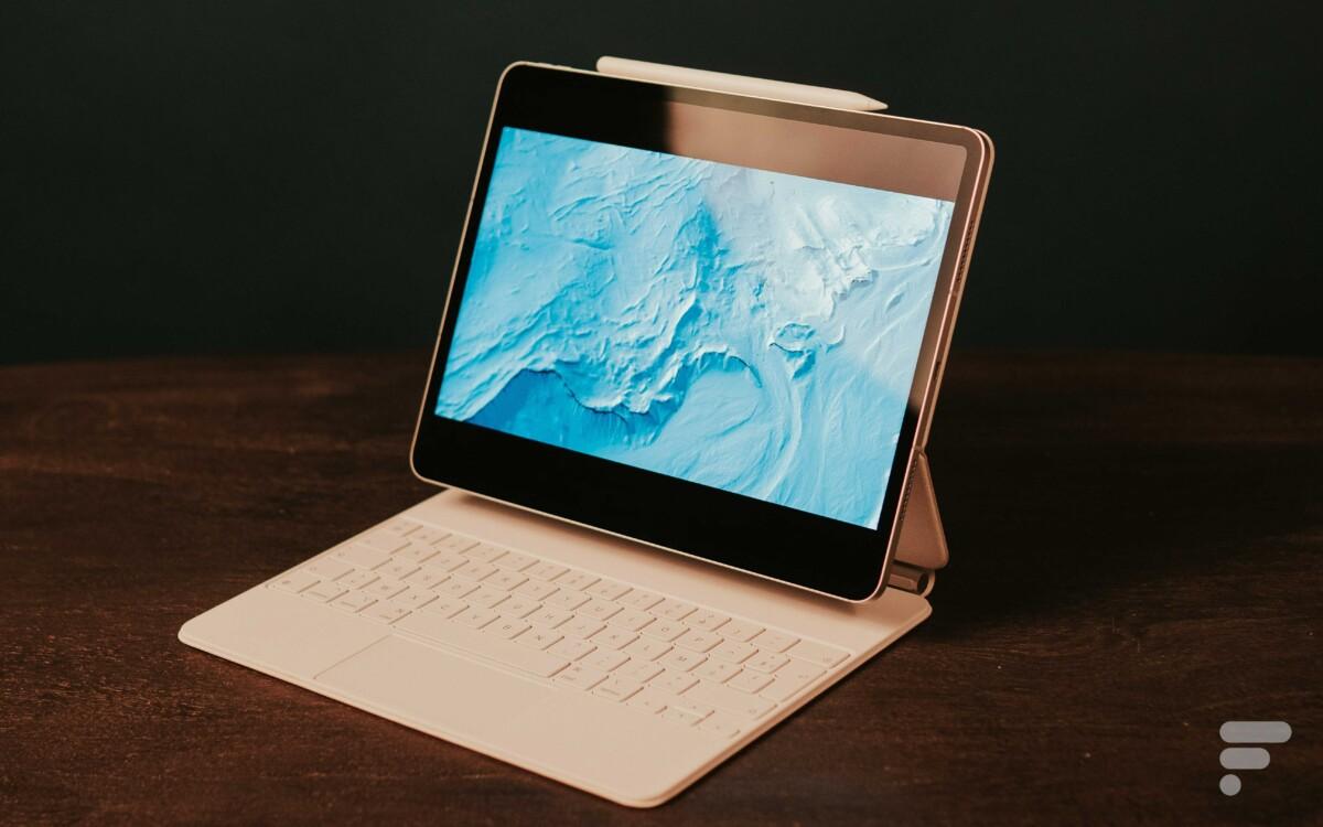 Les couleurs sont éclatantes sur l'iPad Pro12,9″