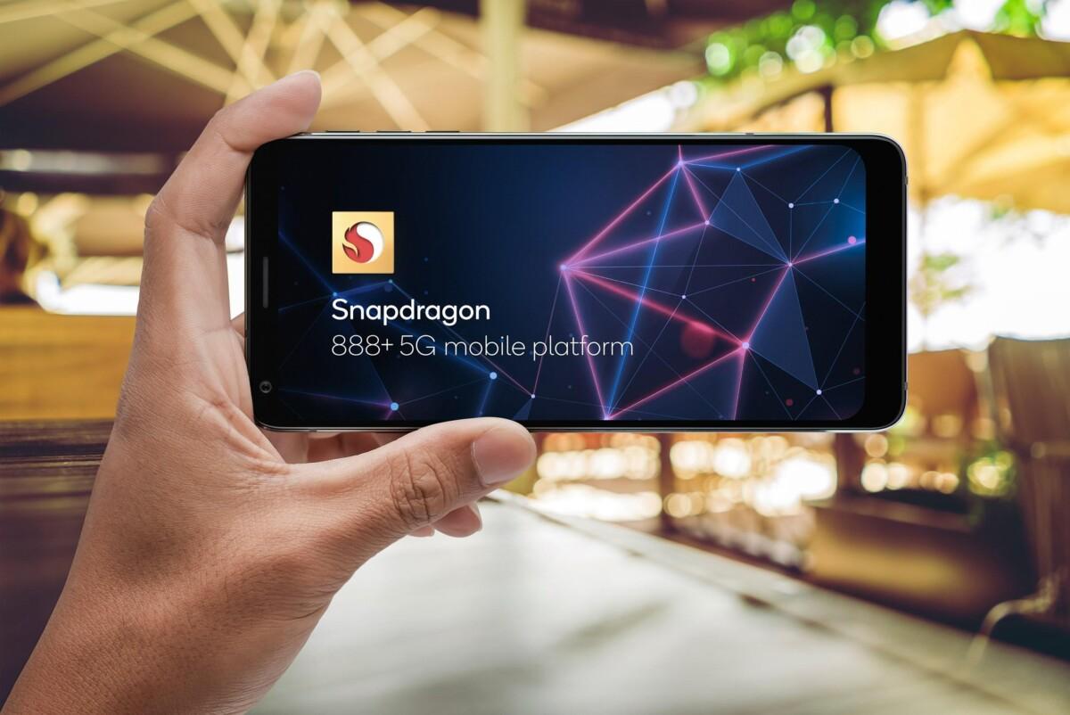 Un smartphone avec le Snapdragon 888 Plus
