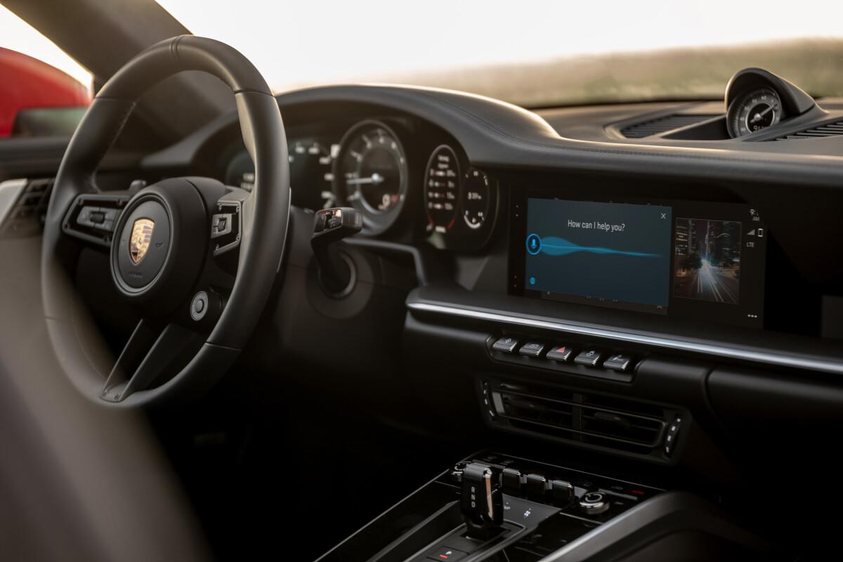 Porsche PCM6.0 dans la Porsche911 Carrera