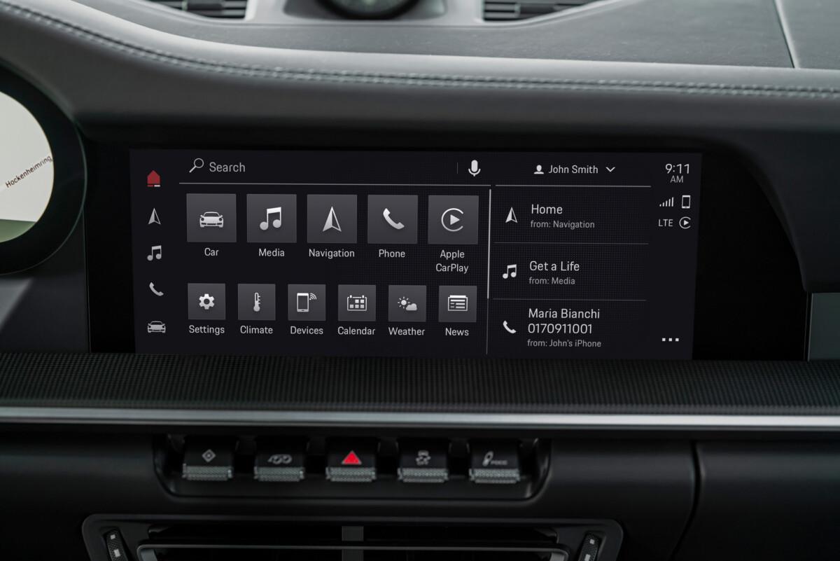 PCM6.0 dans la 911 Carrera