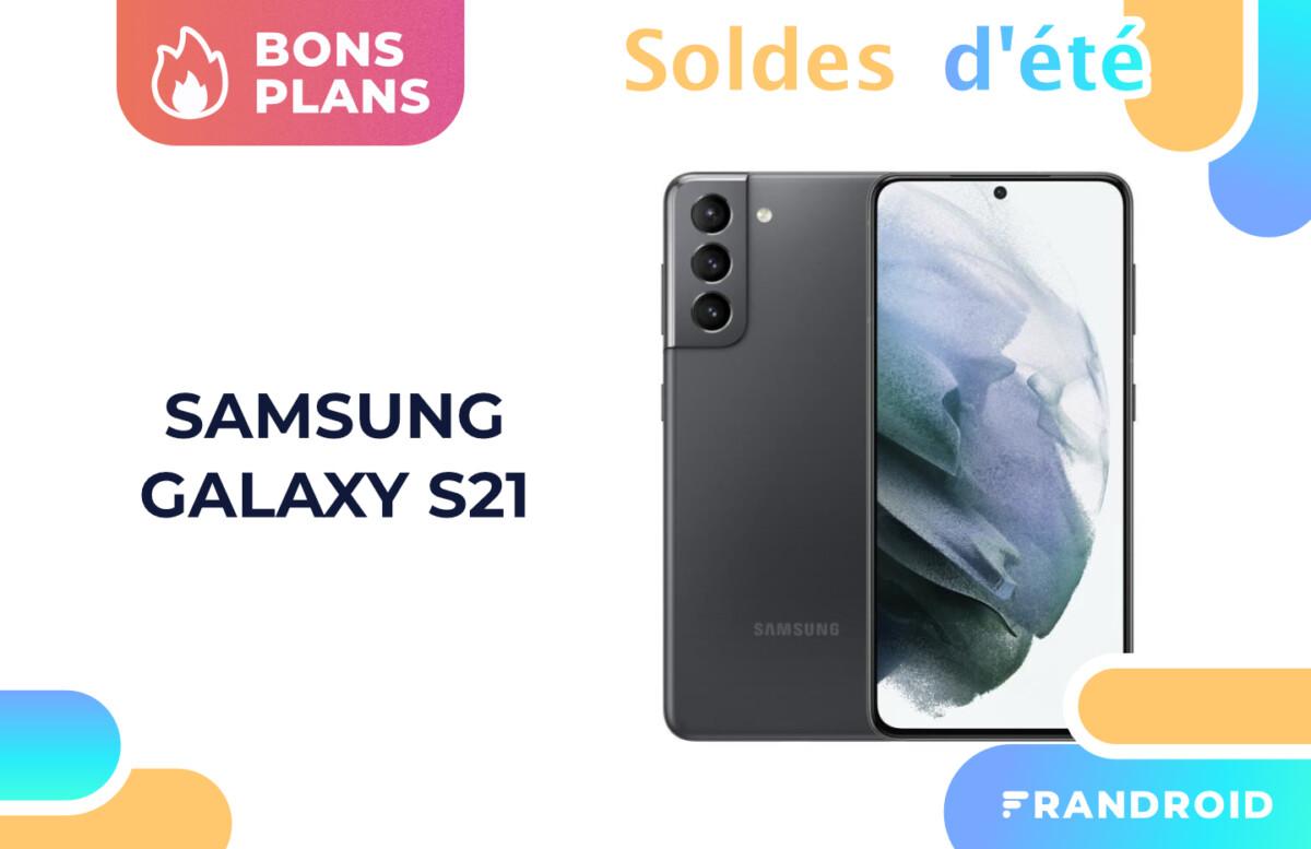 Le Samsung Galaxy S21 est à 699 € pendant les soldes d'été 2021