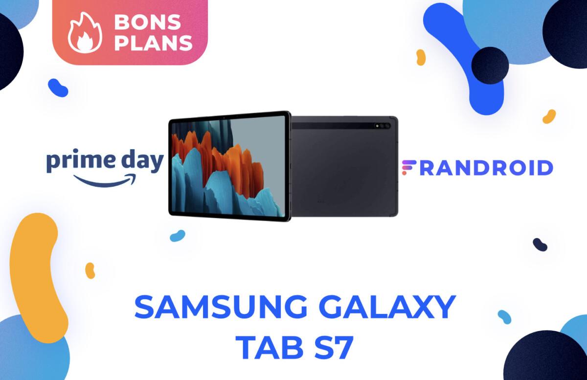 La tablette Samsung Galaxy Tab S7 est en promotion pour Prime Day