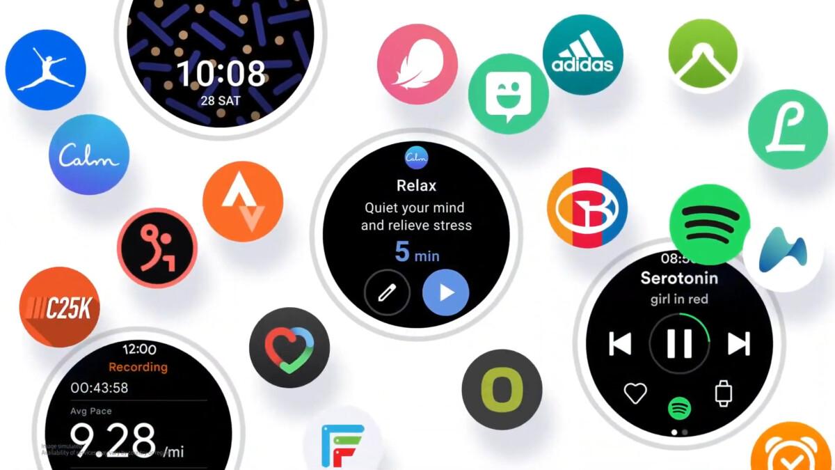 Samsung et Wear OS