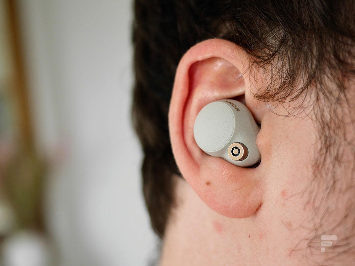 Les écouteurs sans fil Sony WF-1000XM4