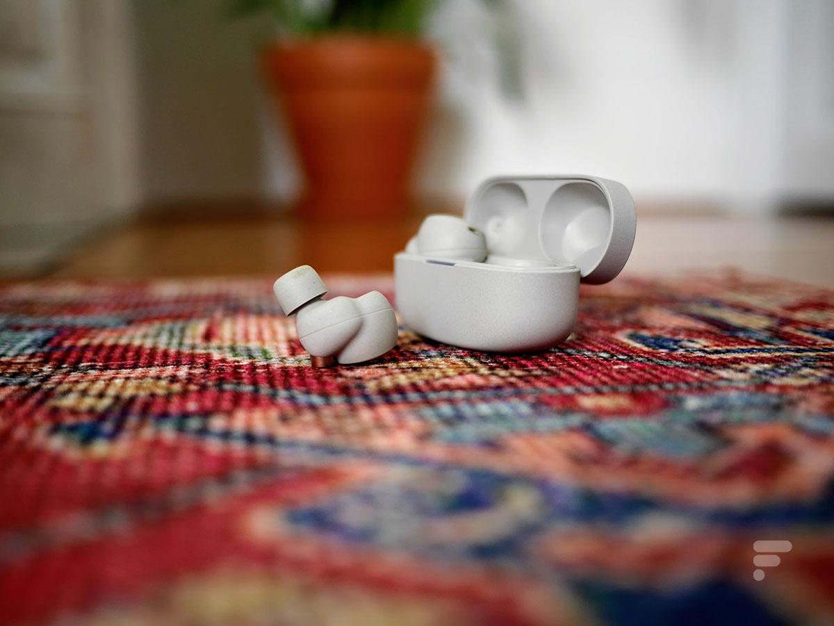 Les écouteurs sans fil SonyWF-1000XM4