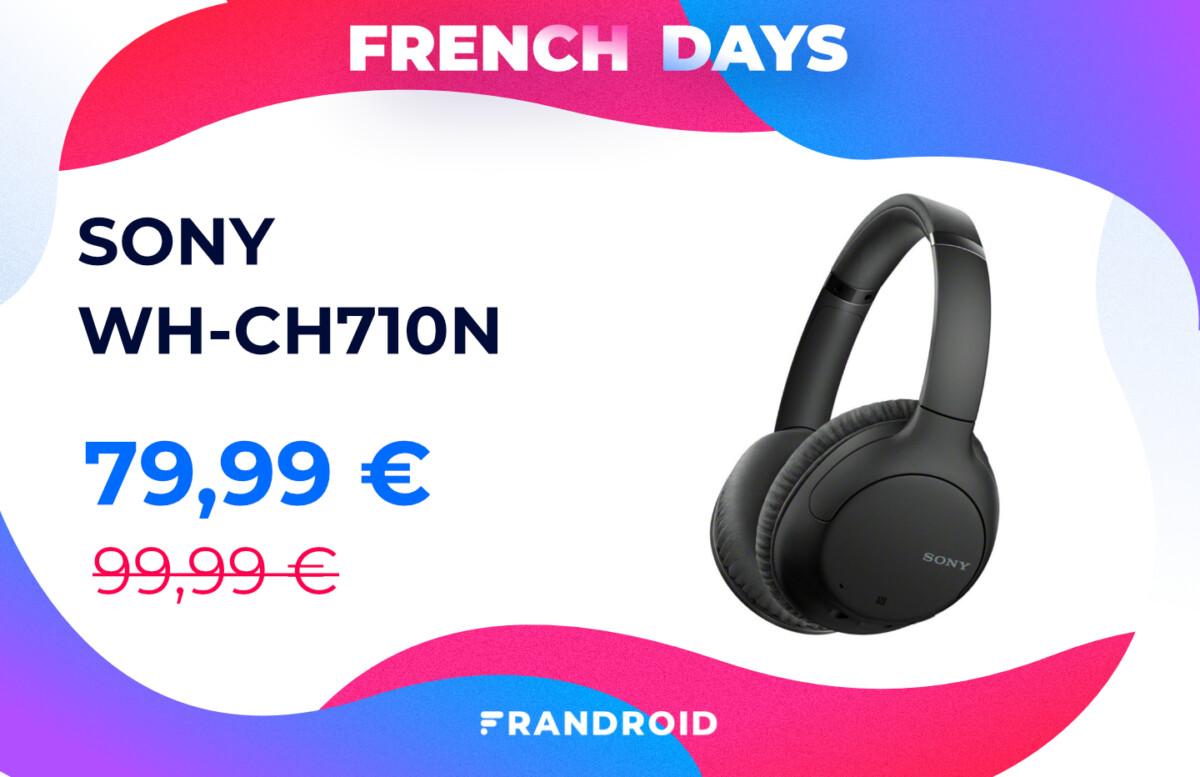 sony wh ch710n french days 1200x777 - les meilleures offres pour se faire plaisir à moins de 100 €