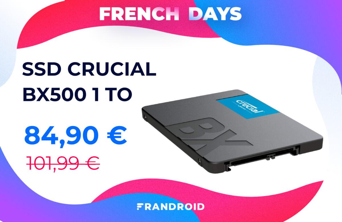 ssd crucial bx500 1 to french days 1200x777 - les meilleures offres pour se faire plaisir à moins de 100 €
