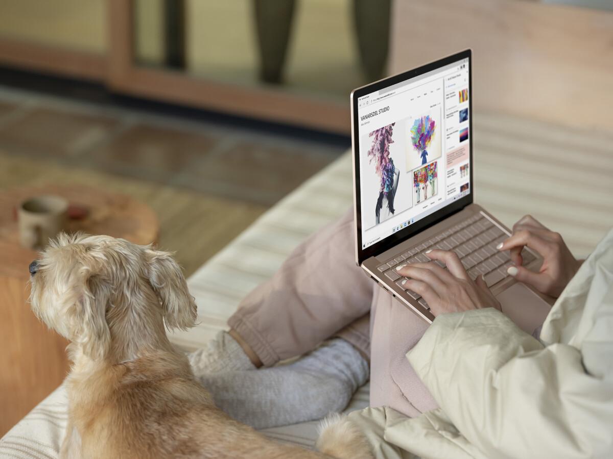 Le Surface Laptop 4