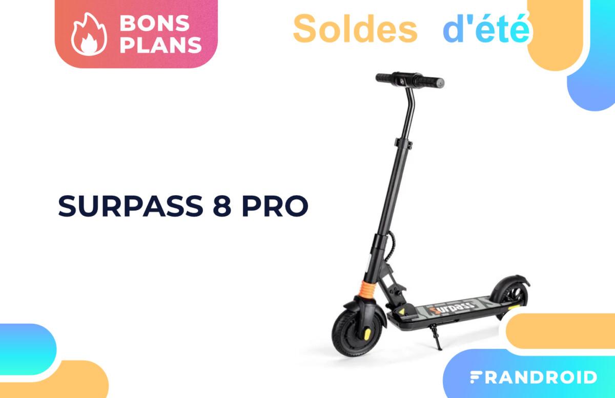 Surpass 8 Pro en solde : roulez en trottinette électrique pour 149 €