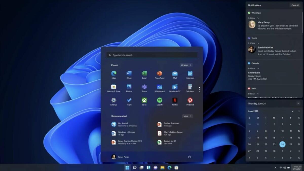 Windows 11 : on connaît sa date de sortie et son prix