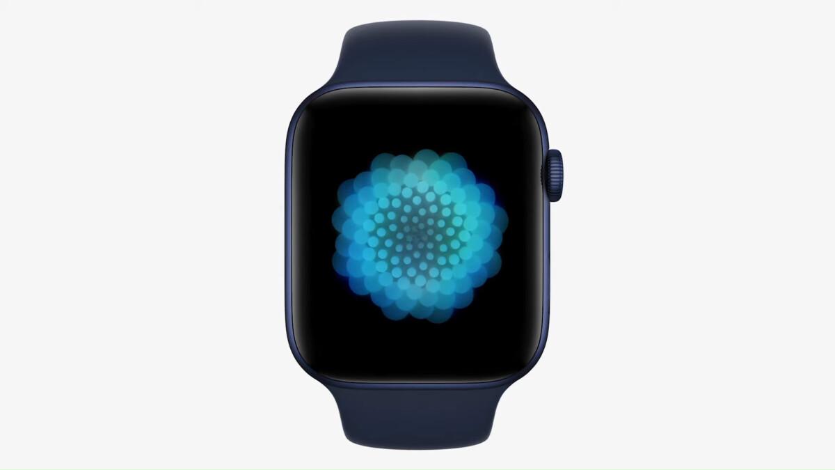 L'application Breathe a été largement améliorée. Source: Apple