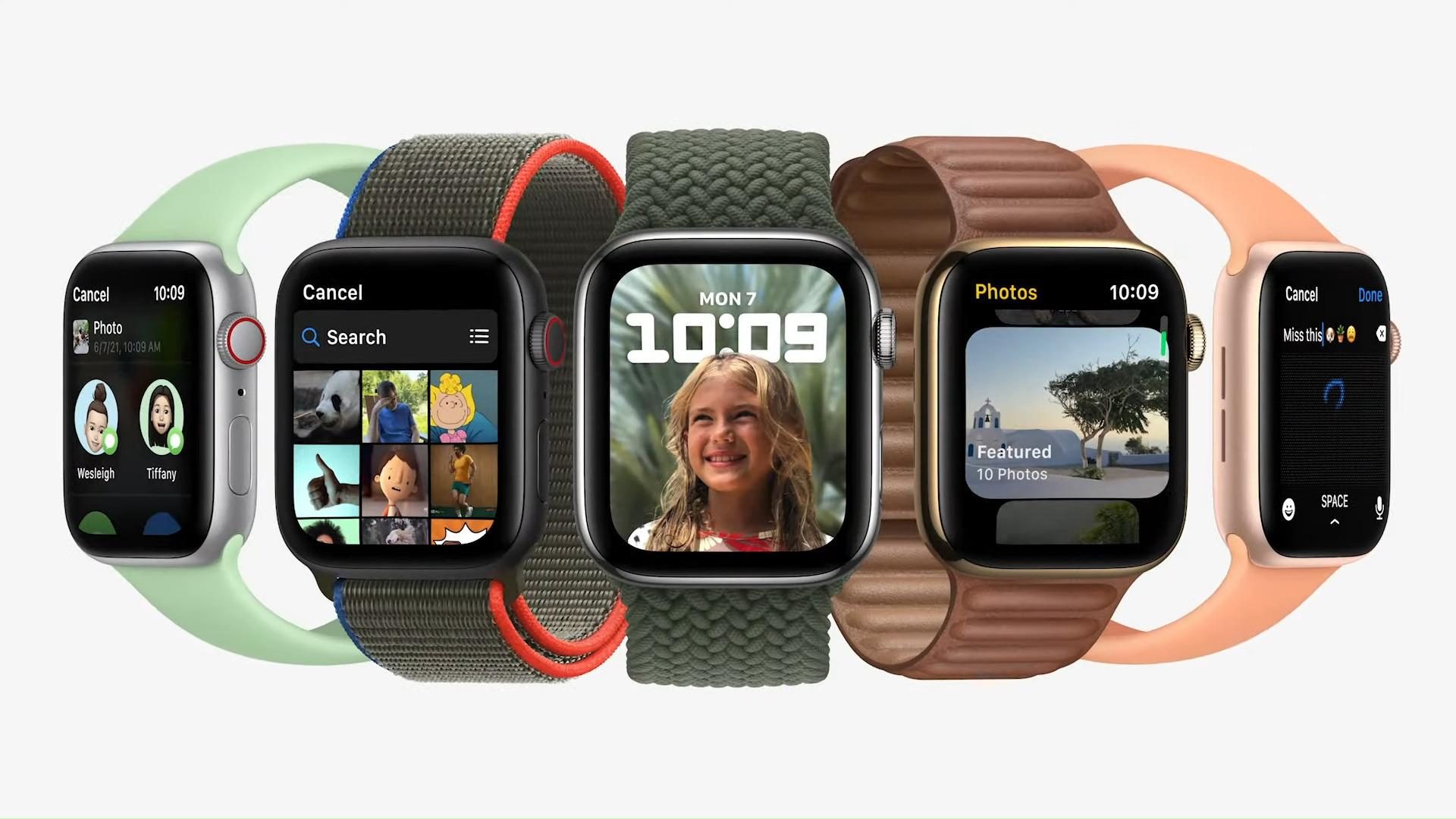 watchOS 8 : Breathe app, Apple fitness +, photos... l'Apple Watch fait le plein de nouveautés