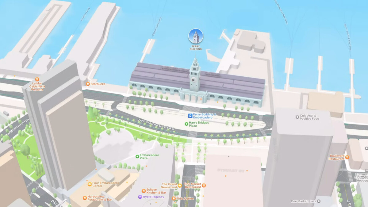 wwdc 2021 june 7 apple 33 53 screenshot 1200x675 - Apple Plans passe à la 3D avec des vues ultra détaillées
