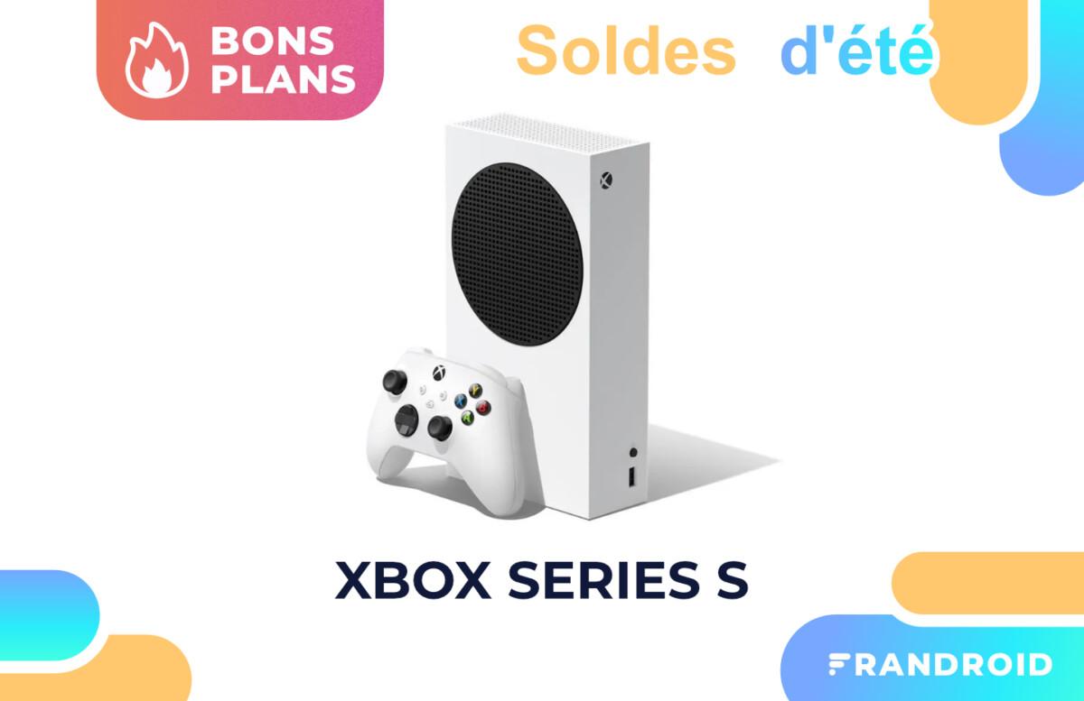 La Xbox Series S est moins chère avec ce code promo pendant les soldes