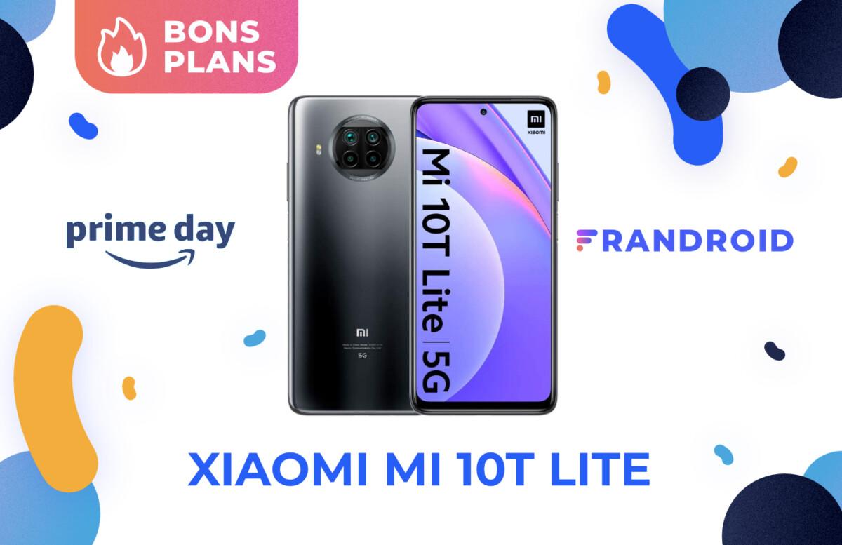 Promotion sur le Xiaomi Mi 10T Lite pour le Prime Day 2021 d'Amazon