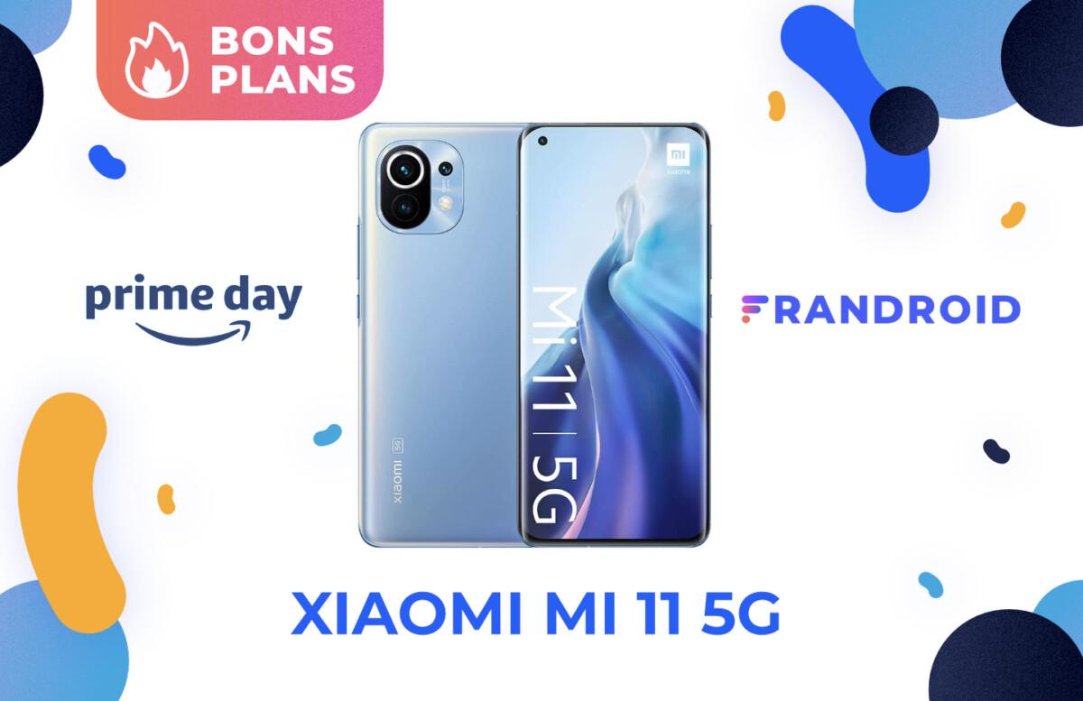 Promotion sur le Xiaomi Mi 11 5G pour le Prime Day 2021 d'Amazon