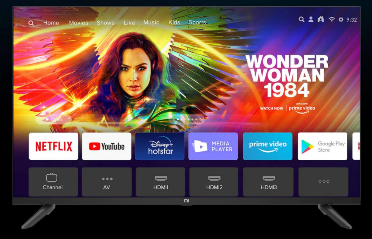 Xiaomi lance une TV aux bordures aussi petites que son prix en Inde