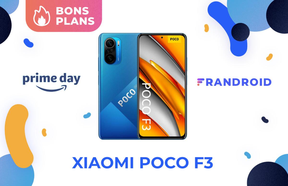 Promotion sur le Xiaomi Poco F3 pour le Prime Day 2021 d'Amazon