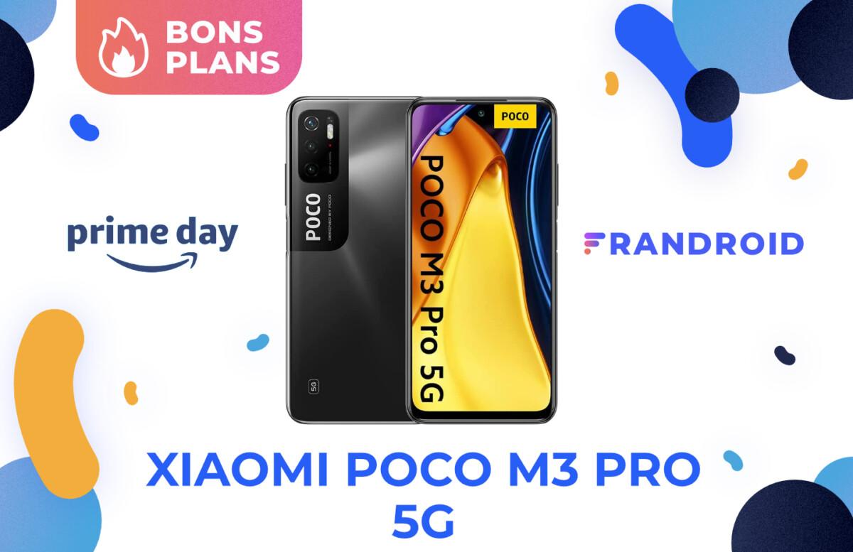 Promotion sur le Xiaomi Poco M3 Pro 5G pour le Prime Day 2021 d'Amazon