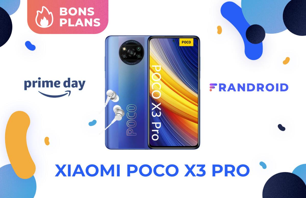 Promotion sur le Xiaomi Poco X3 Pro pour le Prime Day 2021 d'Amazon