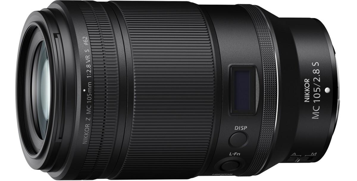 L'objectif Nikon Nikkor Z MC 105 mm f/2,8 VR S