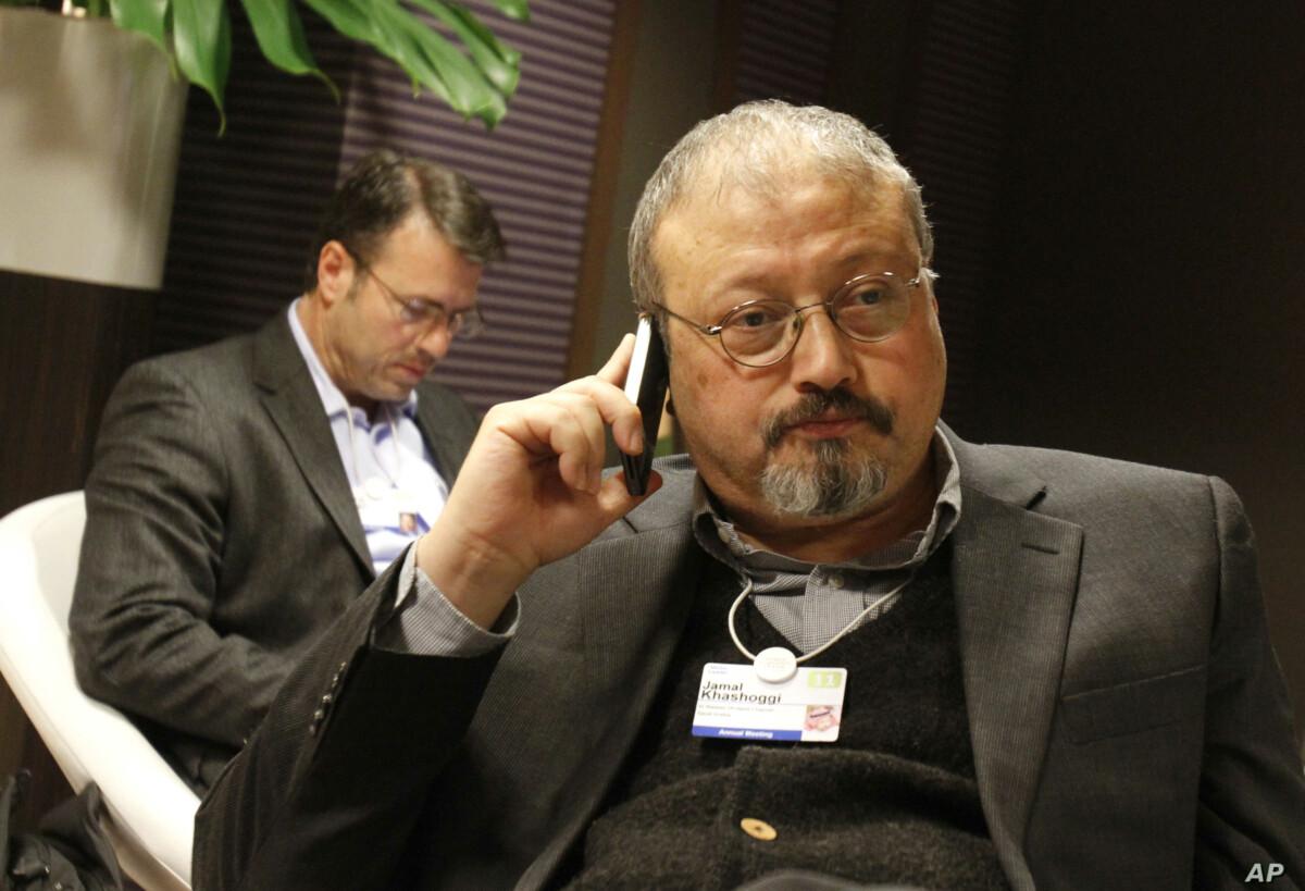 Journalist Jamal Khashoggi who was assassinated on October 2, 2018