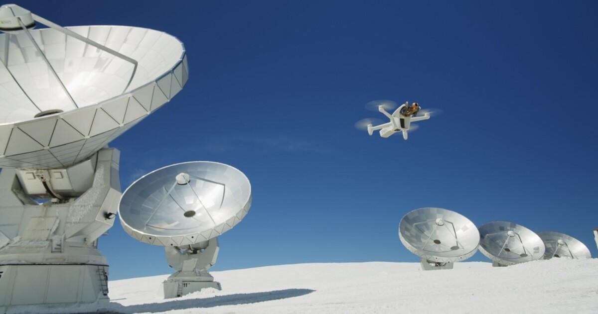 Le drone Parrot Anafi Ai