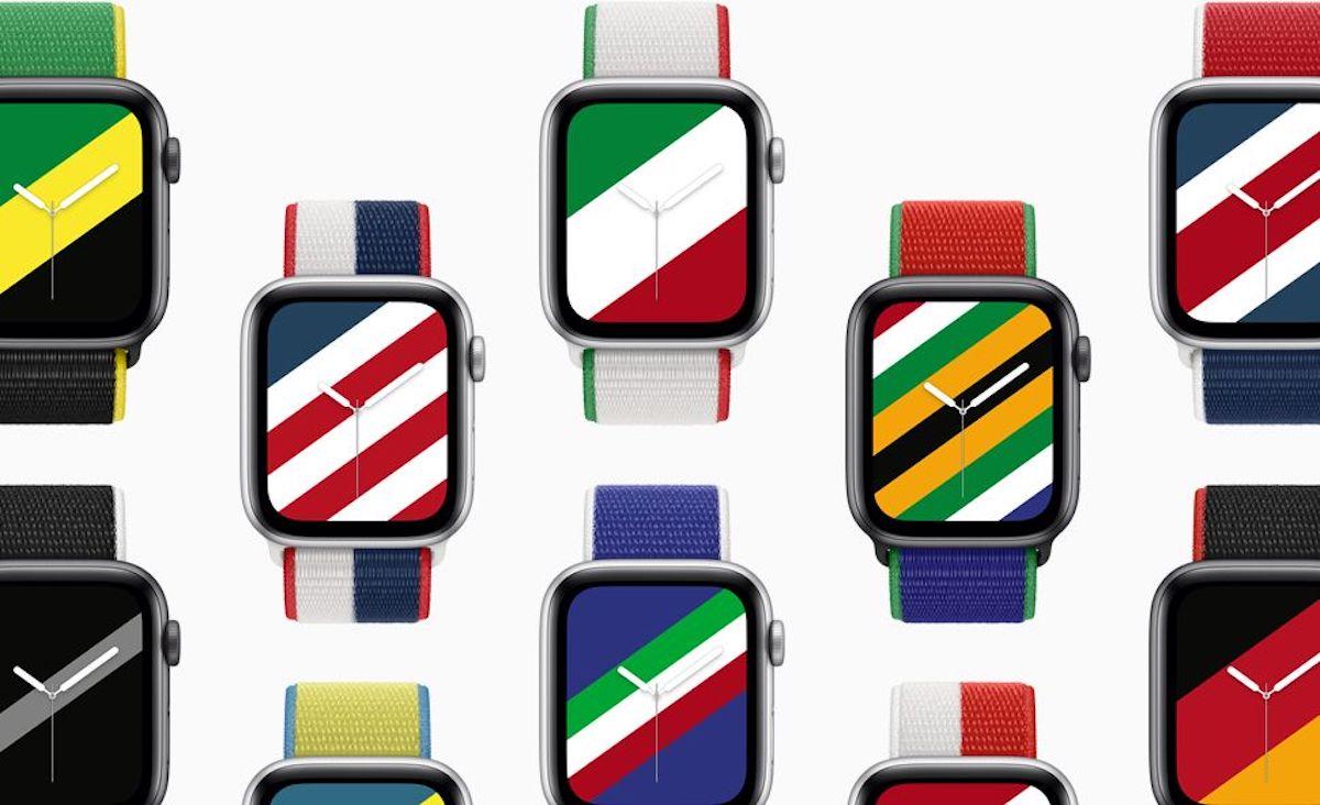 Apple dégaine une collection de bracelets pour les JO