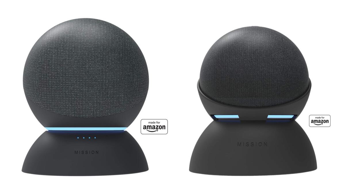 Amazon lance des batteries pour Echo et Echo Dot