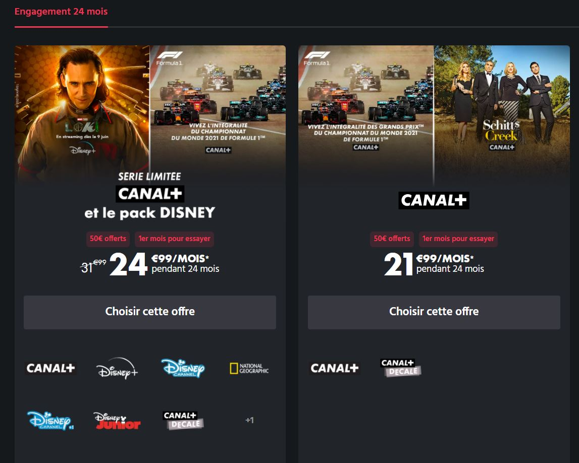 Canal+ avec Disney+ : une nouvelle série limitée fait passer l'abonnement à 25 €/mois