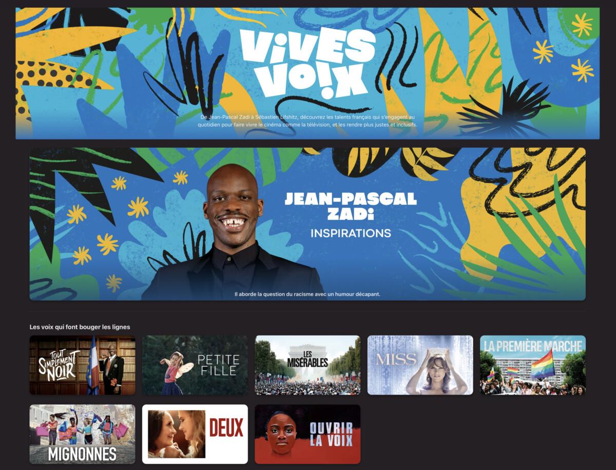 L'acteur Jean-Pascal Zadi (Tout simplement noir) est l'une des Vives Voix