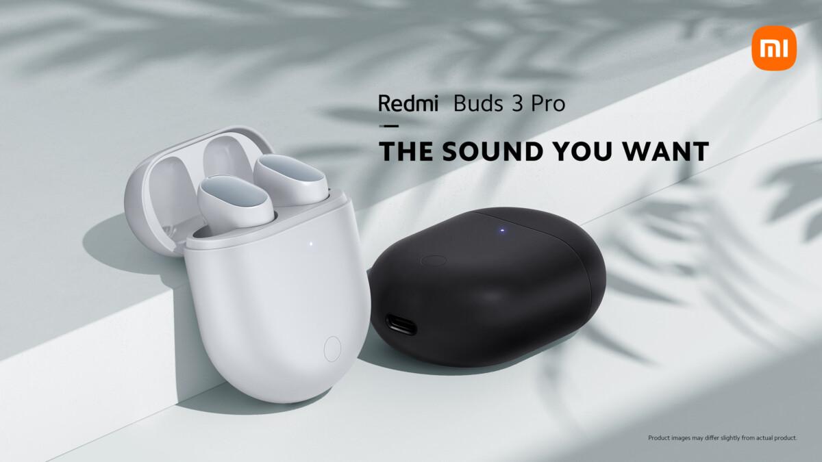 Les écouteurs Xiaomi Redmi Buds 3 Pro