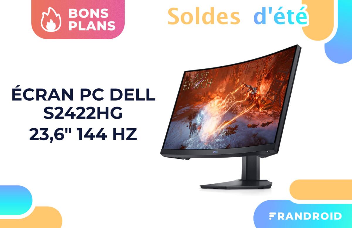Promotion appliquée sur l'écran PC Dell S2422HG pendant les soldes.