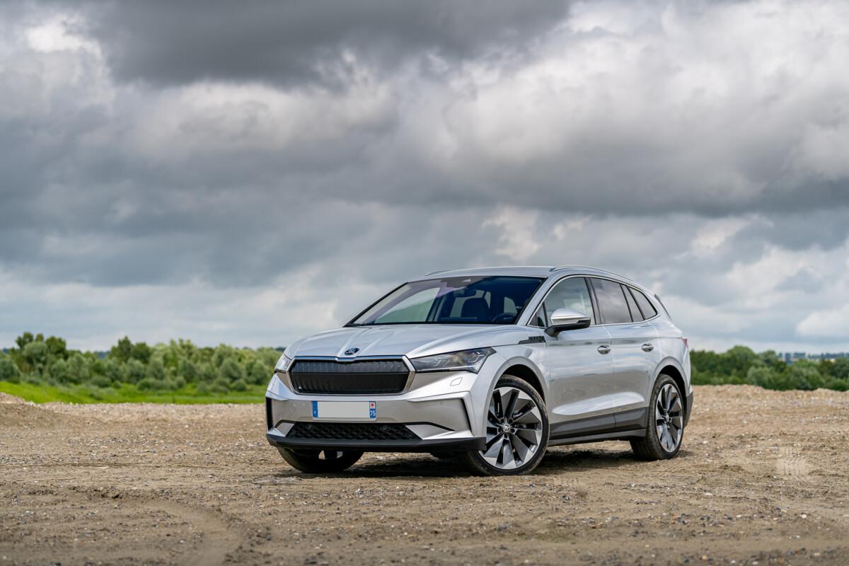 Le Škoda Enyaq iV