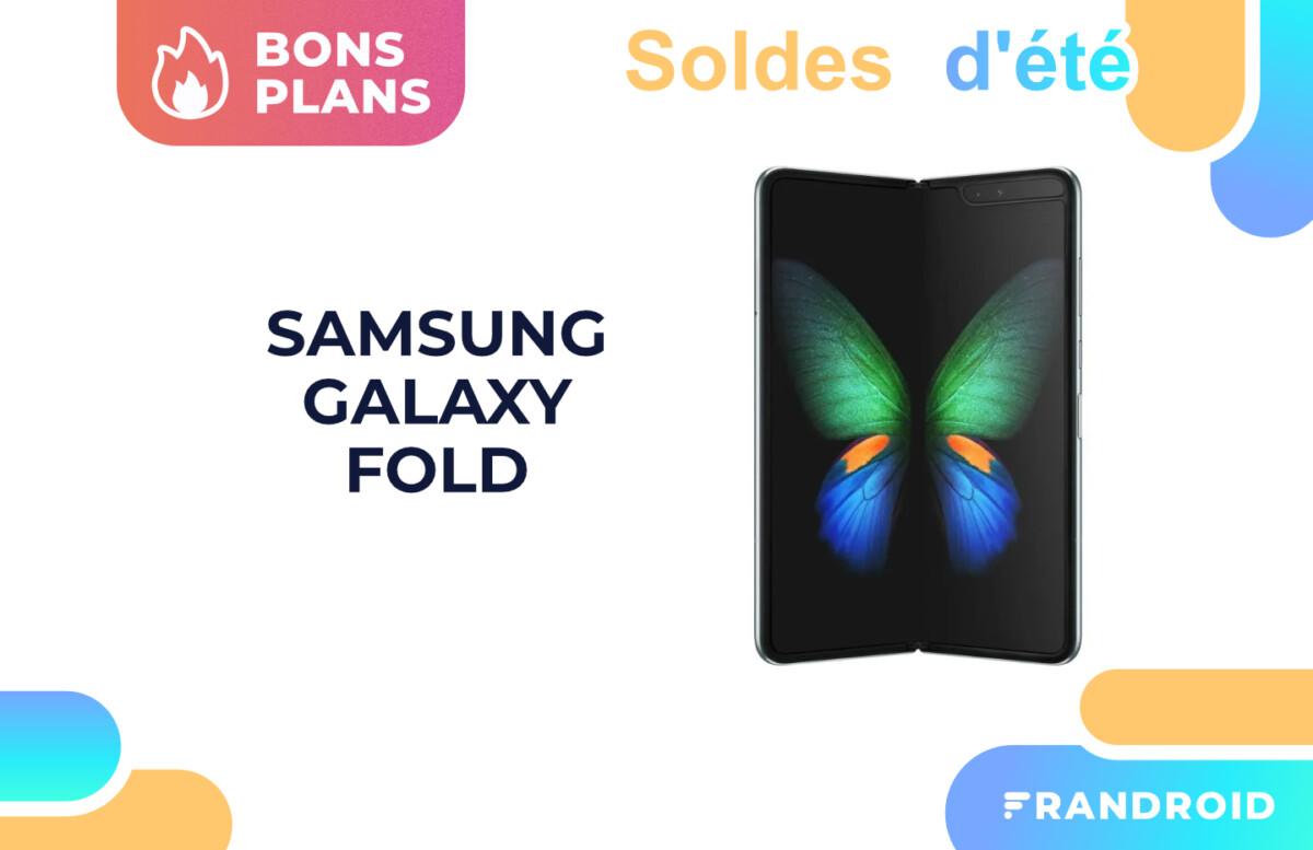 Le prix du Samsung Galaxy Fold dégringole pendant les soldes (-63 %)