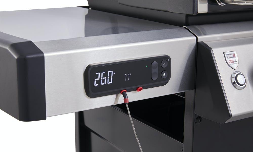 La technologie de suivi de cuisson Weber Connect