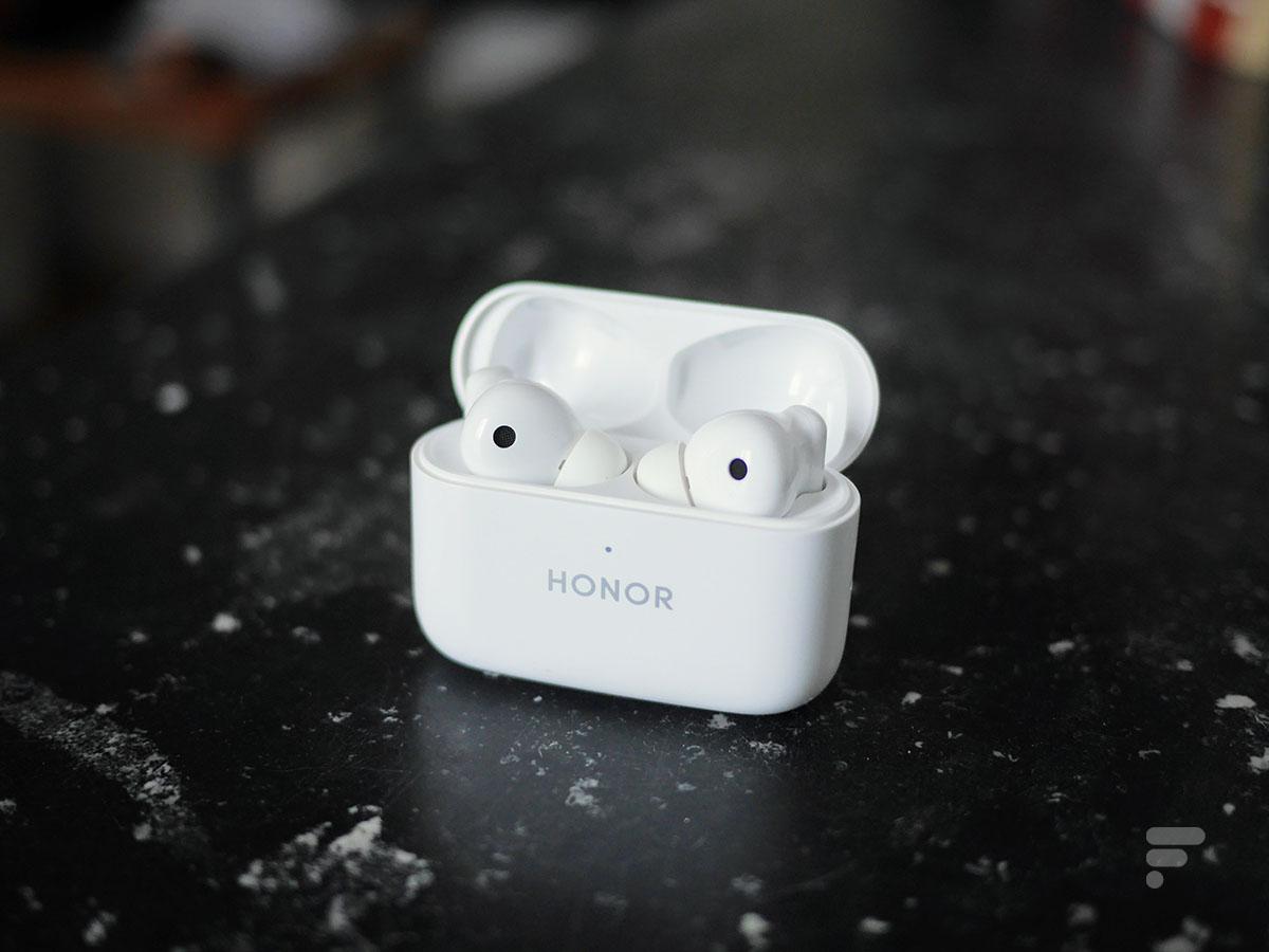 Le boîtier des Honor Earbuds 2 Lite