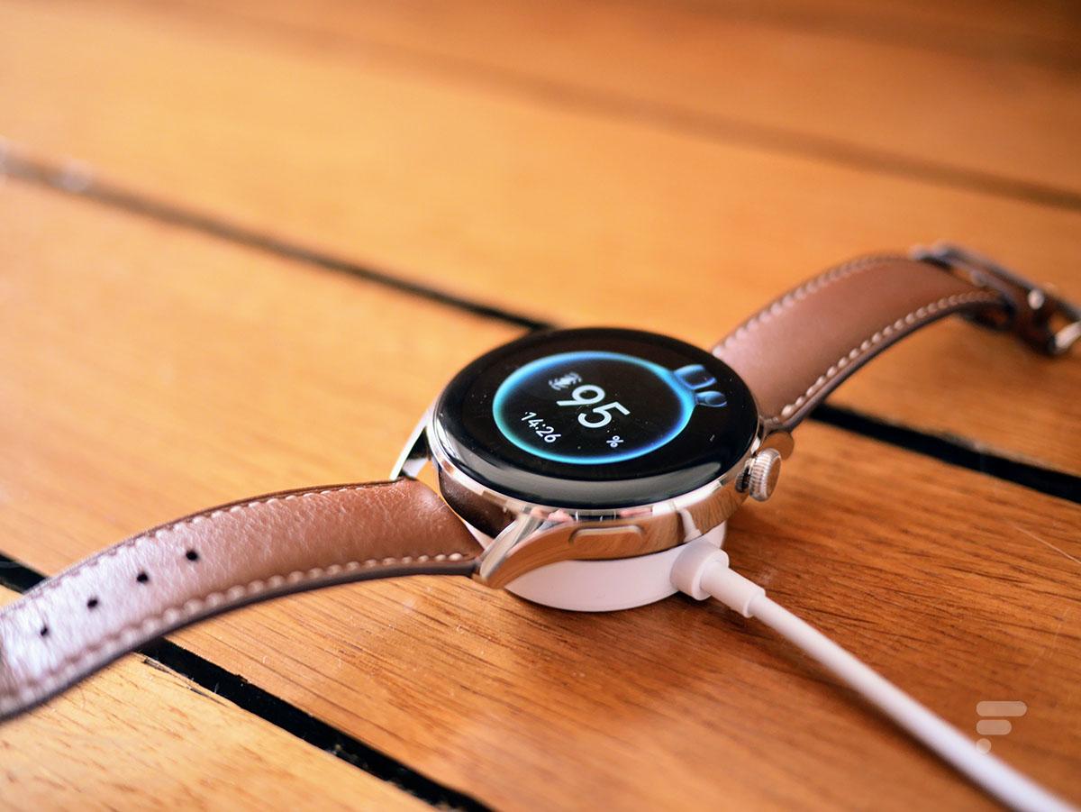 Le chargeur de la montre connectée Huawei Watch 3