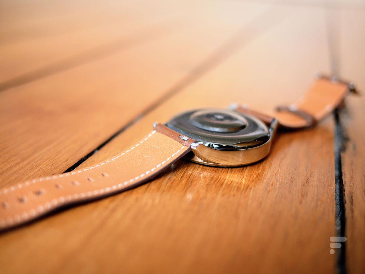 Le dos de la Huawei Watch 3