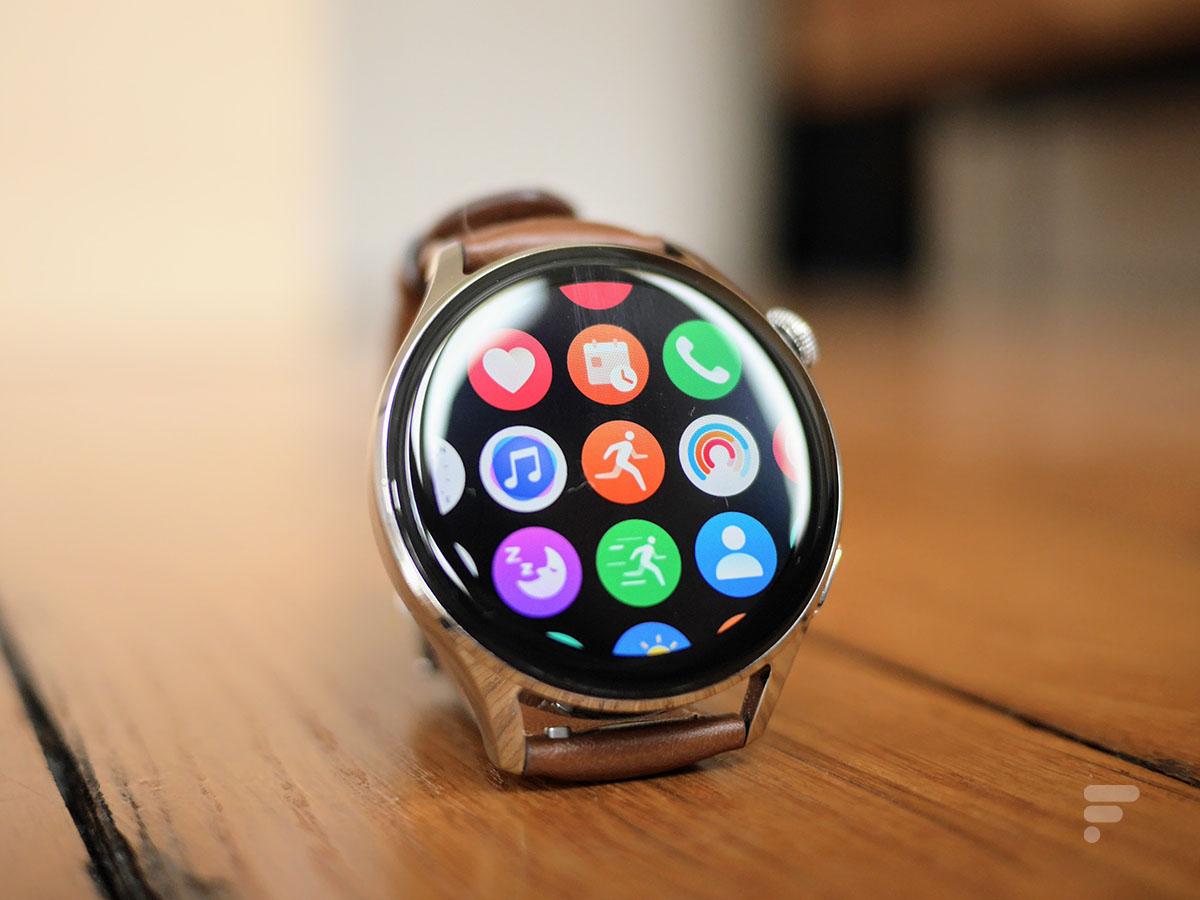 La montre connectée Huawei Watch 3