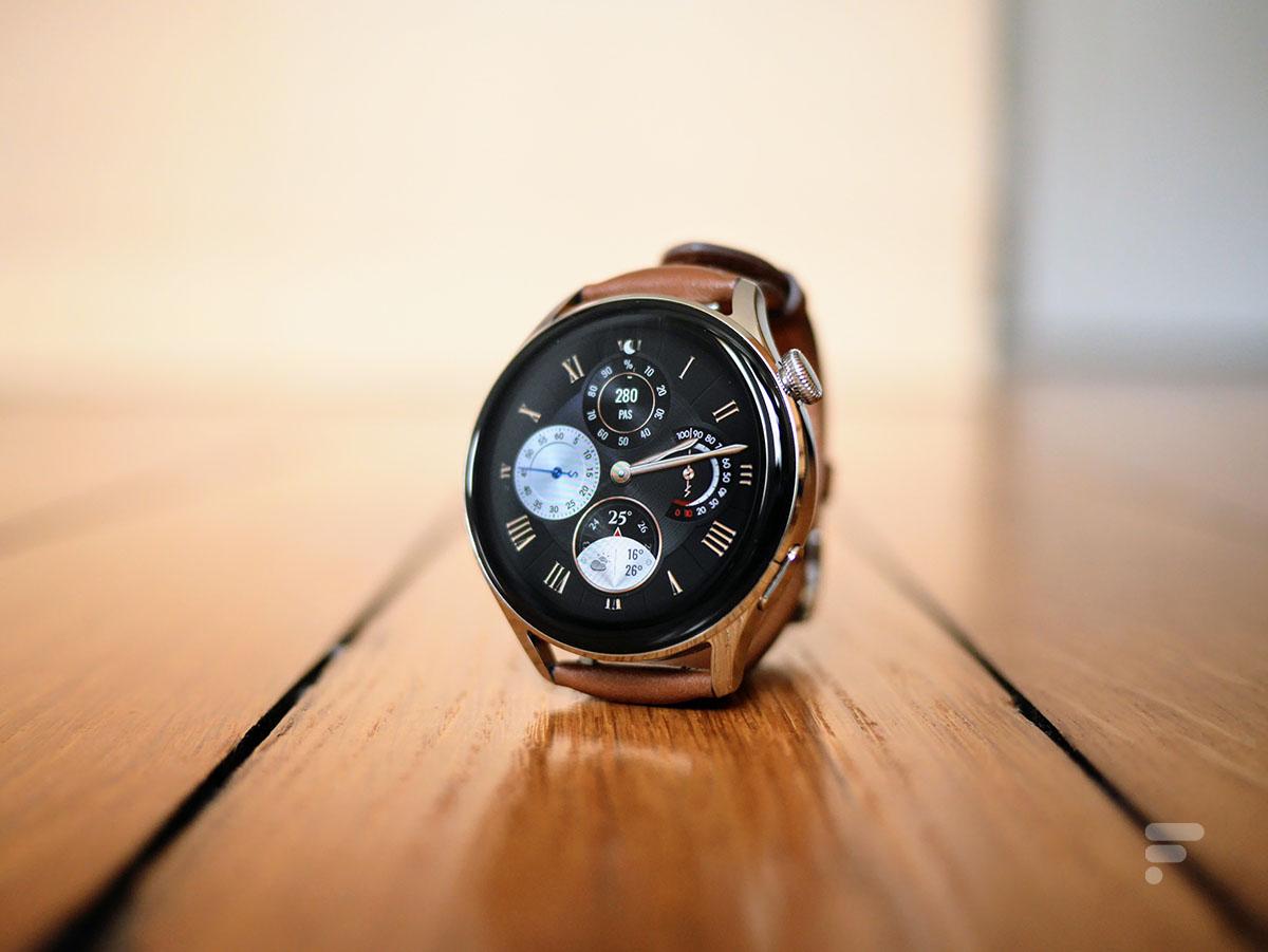 L'affichage de la Huawei Watch 3